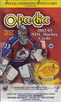 2002-03 O Pee Chee (Blaster) Hockey