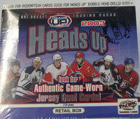 2002-03 Pacific Heads Up (Retail) Hockey