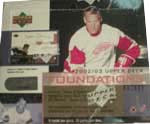 2002-03 Upper Deck Foundations Hockey