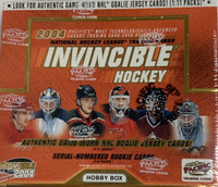 2003-04 Pacific Invincible (Hobby) Hockey