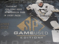 2006-07 Upper Deck SP Game Used Hockey