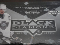 2007-08 Upper Deck Black Diamond Hockey