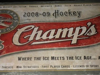 2008-09 Upper Deck Champs Hockey