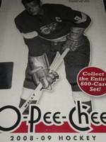 2008-09 Upper Deck O Pee Chee (Hobby) Hockey