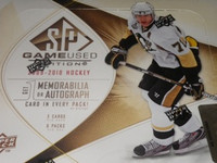 2009-10 Upper Deck SP Game Used Hockey