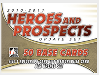 2010-11 In the Game Heroes and Prospects Update Set Hockey