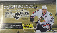 2010-11 Upper Deck Black Diamond Hockey