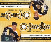 2010-11 Upper Deck O Pee Chee (Retail) Hockey