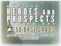 2011-12 In the Game Heroes & Prospects Update Set Hockey
