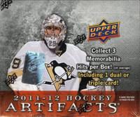 2011-12 Upper Deck Artifacts (Hobby) Hockey