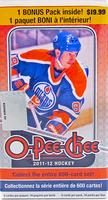 2011-12 Upper Deck O Pee Chee (Blaster) Hockey