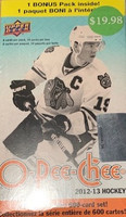 2012-13 Upper Deck O Pee Chee (Blaster) Hockey