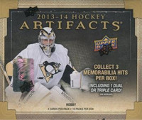 2013-14 Upper Deck Artifacts (Hobby) Hockey