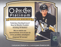 2014-15 Upper Deck O Pee Chee Platinum (Hobby) Hockey
