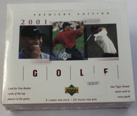 2001 Upper Deck (Retail) Golf