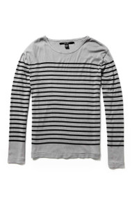 [Sample] Ben Sherman, BW striped long sleeve tee