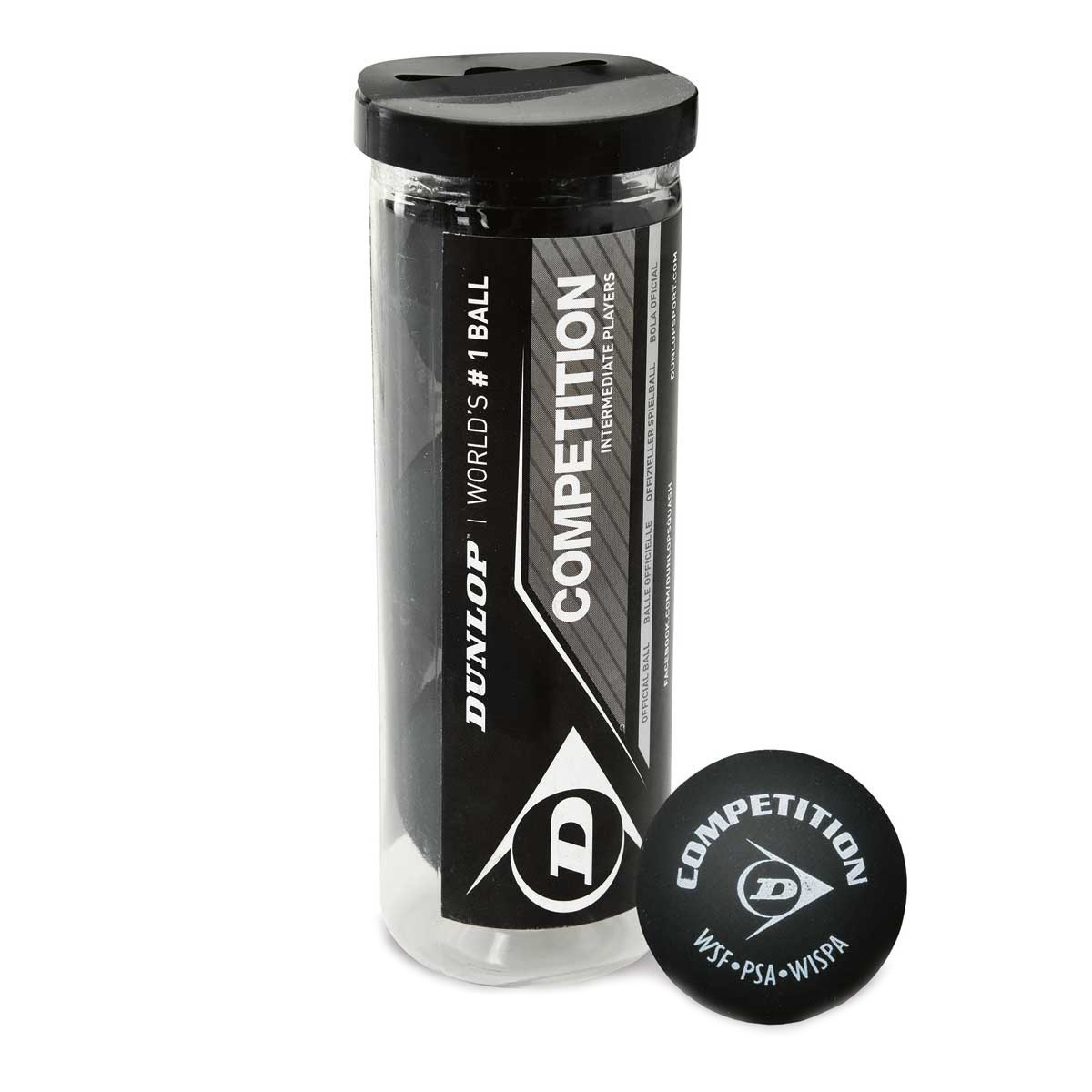 Dunlop Competition 3 Ball tube