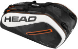 Head Tour Team Supercombi 9 Racket Bag Black/White