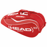 Head Red Combi Special Edition 6 Tennis Racket Bag
