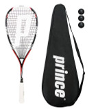 Prince Pro Airstick Lite 550 Squash Racket + Cover + 3 Balls