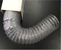 """FH04  4"""" Flexible Dust Collection Hose - priced per foot - 3 foot minimum. Enter quantity 3 or more feet."""