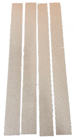 4 Pack of Zona replacement Sanding Strips