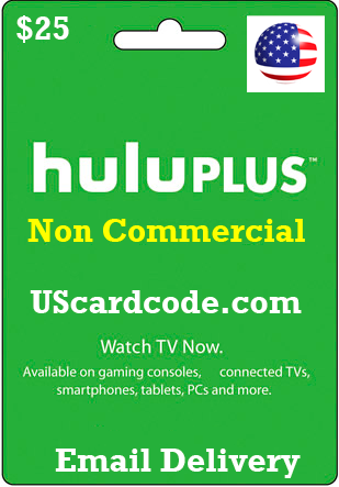 Non Commercial Hulu plus gift card. Loading zoom. Non Commercial Hulu plus ...