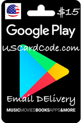 $15 Google Gift Card