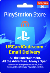 Playstation gift card online | USCardCode.com