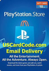 PS4 Gift Code online | USCardCode.com