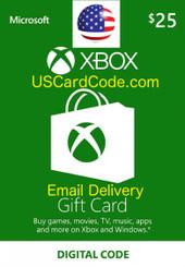 $25 XBox gift card | USCardCode.com