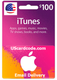 $100 iTunes Gift Card Online