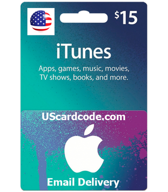 $15 iTunes Gift Card Certificate