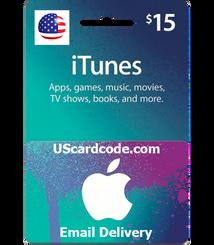$15 iTunes Gift Code