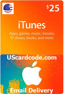 $25 iTunes Gift Certificate