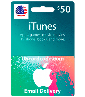 $50 iTunes Gift Card Online