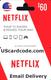 $60 Netflix card on UScardcode.com 400x600