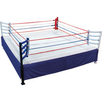 Classic Elevated Fight Night Boxing Ring 20' X 20'