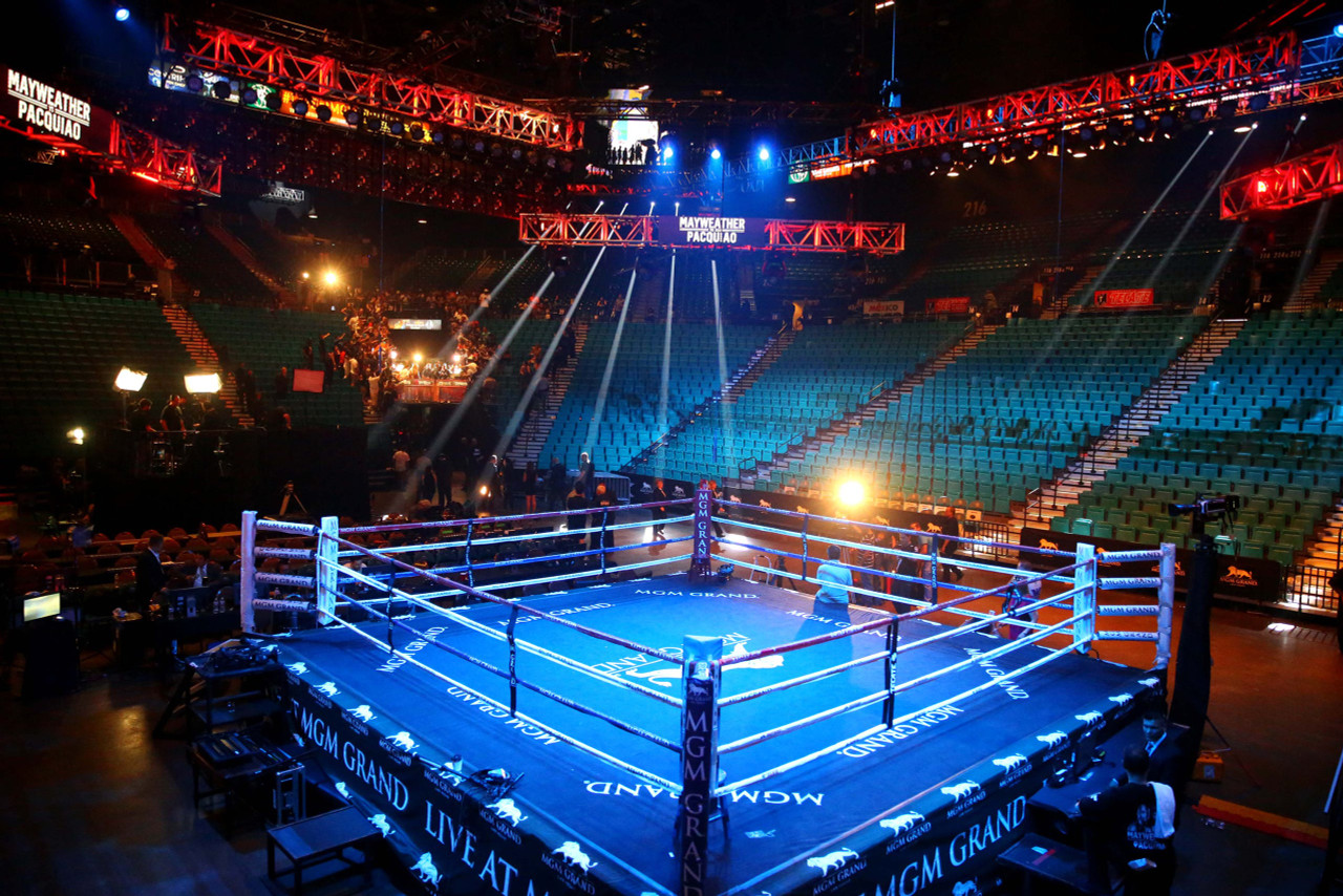 Professional Boxing Ring 20' X 20' Elevated Series