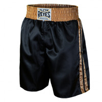 Cleto Reyes Boxing Shorts Black/Antique Gold