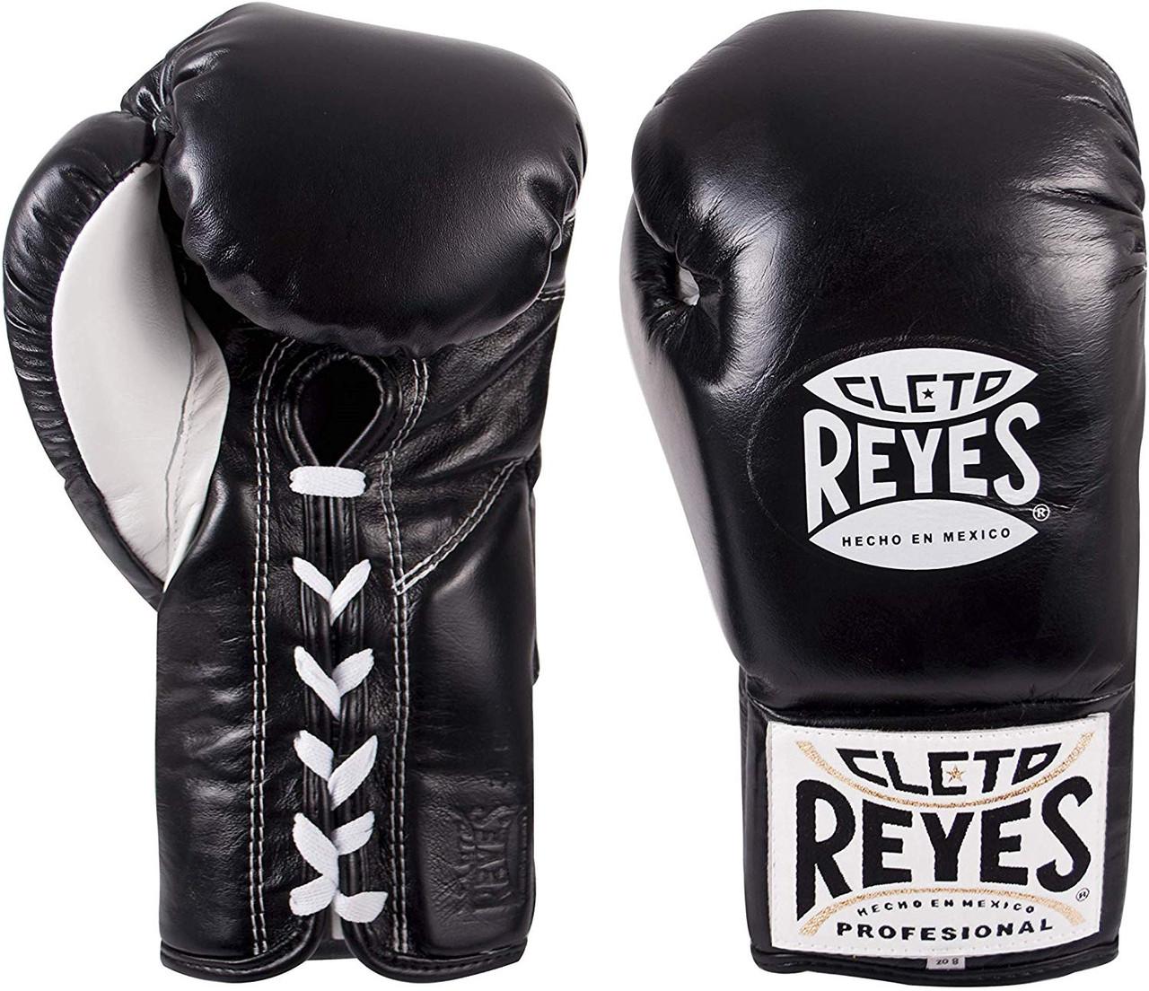 Cleto Reyes Pro Fight Gloves Black