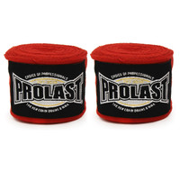 "PROLAST PRO SELECT 180"" SEMI ELASTIC RED COLOR STRETCHY HAND WRAPS"