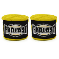 "PROLAST SELECT 180"" SEMI ELASTIC YELLOW COLOR STRETCHY HAND WRAPS"