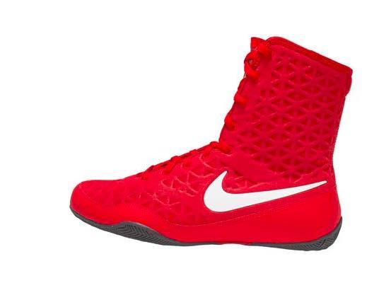 Nike KO Boxing Shoes - University Red