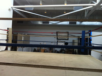 20' X 20' Vintage Aged Professional Boxing Ring
