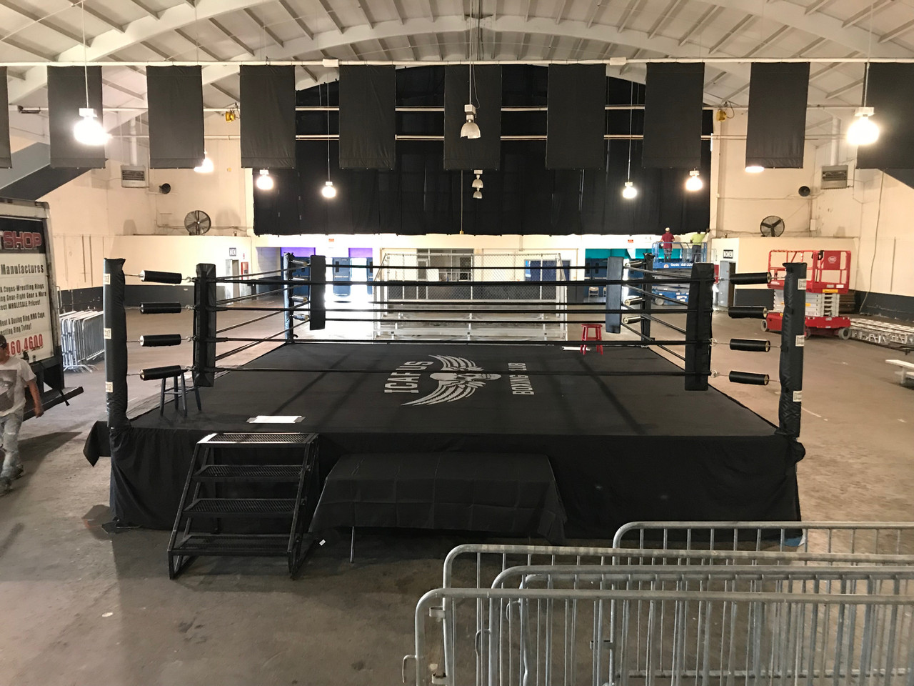 Professional Official USA Competition Boxing Ring