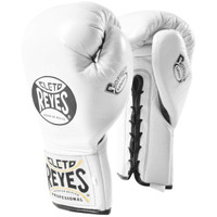Cleto Reyes Safetec Professional Boxing Fight Gloves White