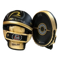 RIVAL 100 SERIES PRO PUNCH MITT BLACK/GOLD