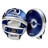 RIVAL 100 SERIES PRO PUNCH MITT Blue/Silver