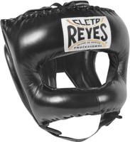 Cleto Reyes Traditional Headgear with Pointed Nylon Face Bar Black